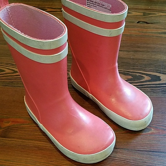 Cat & Jack Other - Toddler girls rubber boots - Cat & Jack (pink)
